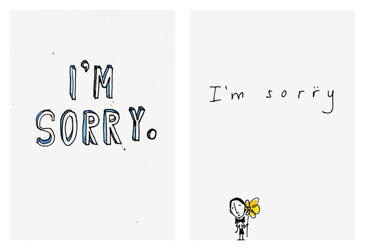 picture about Printable Sorry Cards named Magrikie :