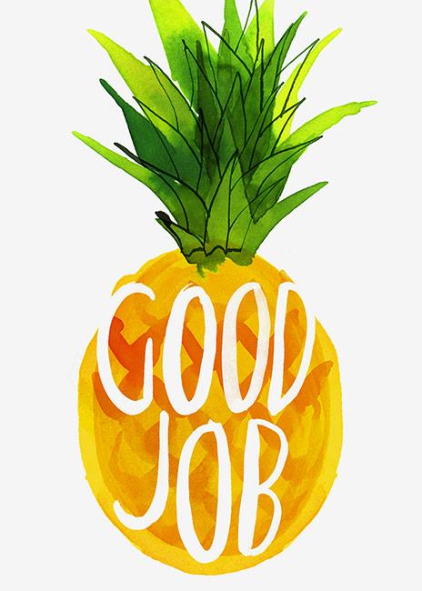 Good Job Patrick: Magrikie : Illustration : Congrats / Good Job / Luck